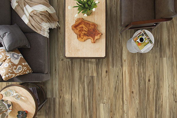 Luxury Vinyl Plank, Clinton, Carbonaro