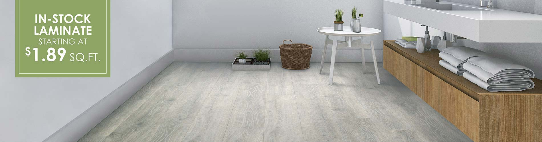 In-stock Laminate flooring starting at $1.89 sq,ft. at J & S Flooring in Georgetown